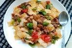 青椒牛肉炒面